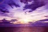 美丽日落 — 图库照片