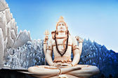 Lord Shiva Statue — Stock Photo
