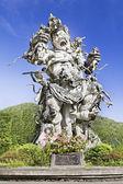 Kumbakarna Laga statue — Stock Photo