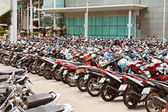 Muchas motos — Foto de Stock