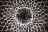 Geometryczny wzór na taj mahal — Zdjęcie stockowe