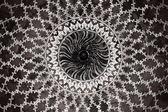 Teste padrão geométrico na taj mahal — Foto Stock