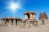 Chariot, Hampi, India — Stockfoto
