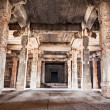 Stock Photo: Inside hindu temple