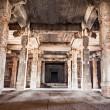 Inside hindu temple — Stock Photo