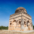 Muslim tomb — Stock Photo