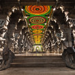 Stock Photo: Inside of Meenakshi Temple