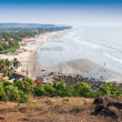 Arambol beach — Stock Photo