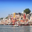 Varanasi ghats — Stock Photo #31304583