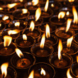 Many candles — Stock Photo