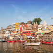 Stock Photo: Varanasi ghats
