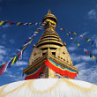 Stock Photo: Swayambhunath Temple