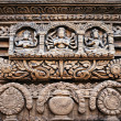 hindu temple decor — Stock Photo