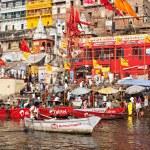 Varanasi ghats — Stock Photo