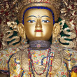 Stock Photo: Buddhstatue in Swayambhunath