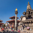 Stock Photo: Temple on Durbar square