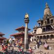 Temple on Durbar square — Stock Photo