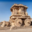 Chariot and Vittala temple — Stock Photo