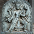 Stock Photo: Hindu temple decor