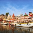 Varanasi ghats — Stock Photo