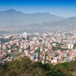 Panorama view to Kathmandu city — Stock Photo