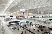 Letiště v hong kongu — Stock fotografie