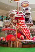 New Year dragons — Foto Stock