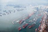 Vista panoramica a hong kong — Foto Stock