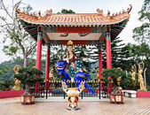 Ten Thousand Buddhas Monastery — Stock Photo