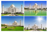 Taj Mahal in sunrise light — Stock Photo