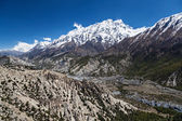Canyon in Annapurna mountains — Stock Photo