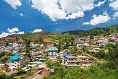 Landscape of Munnar town — Stock Photo