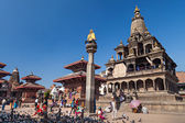 Temple on Durbar square — Stock Photo