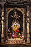 Altar in hindu temple — Foto Stock
