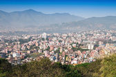 Panorama view to Kathmandu city — Stock Photo