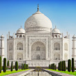 Taj Mahal in sunrise light — Stockfoto