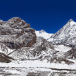 Mountains around Tilicho lake — Stock Photo