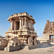 Chariot and Vittala temple — Stock Photo #46044889
