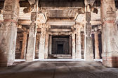 Inside hindu temple — Stock Photo