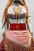 Balkan folk costume — Stock Photo