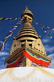 Tempio di swayambhunath — Foto Stock