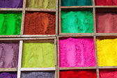 Indian color powder — Stock Photo