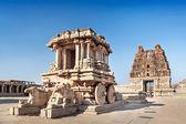 Chariot und vittala tempel — Stockfoto