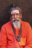 Sadhu - holy men — Stock Photo