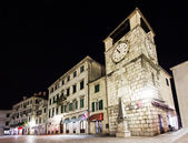 Clock Tower, Kotor — Stock Photo