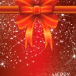 Stockfoto: Beautiful Christmas Balls Card Illustration