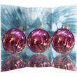 Christmas balls card illustration — Stock Photo #13634157