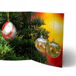 Christmas Balls brochure, Card Illustration — Stock Photo #14034286