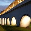 Stock Photo: Reconstructed aqueduct. Russia. Moscow. Rostokino