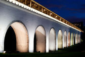 Reconstructed aqueduct. Russia. Moscow. Rostokino — Stock Photo